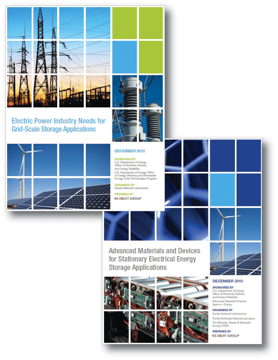 Grid-scale energy storage report covers