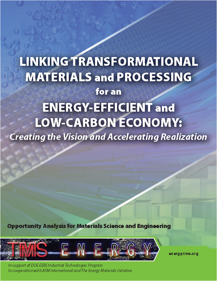 Opportunity Analysis for Materials Science and Engineering report cover